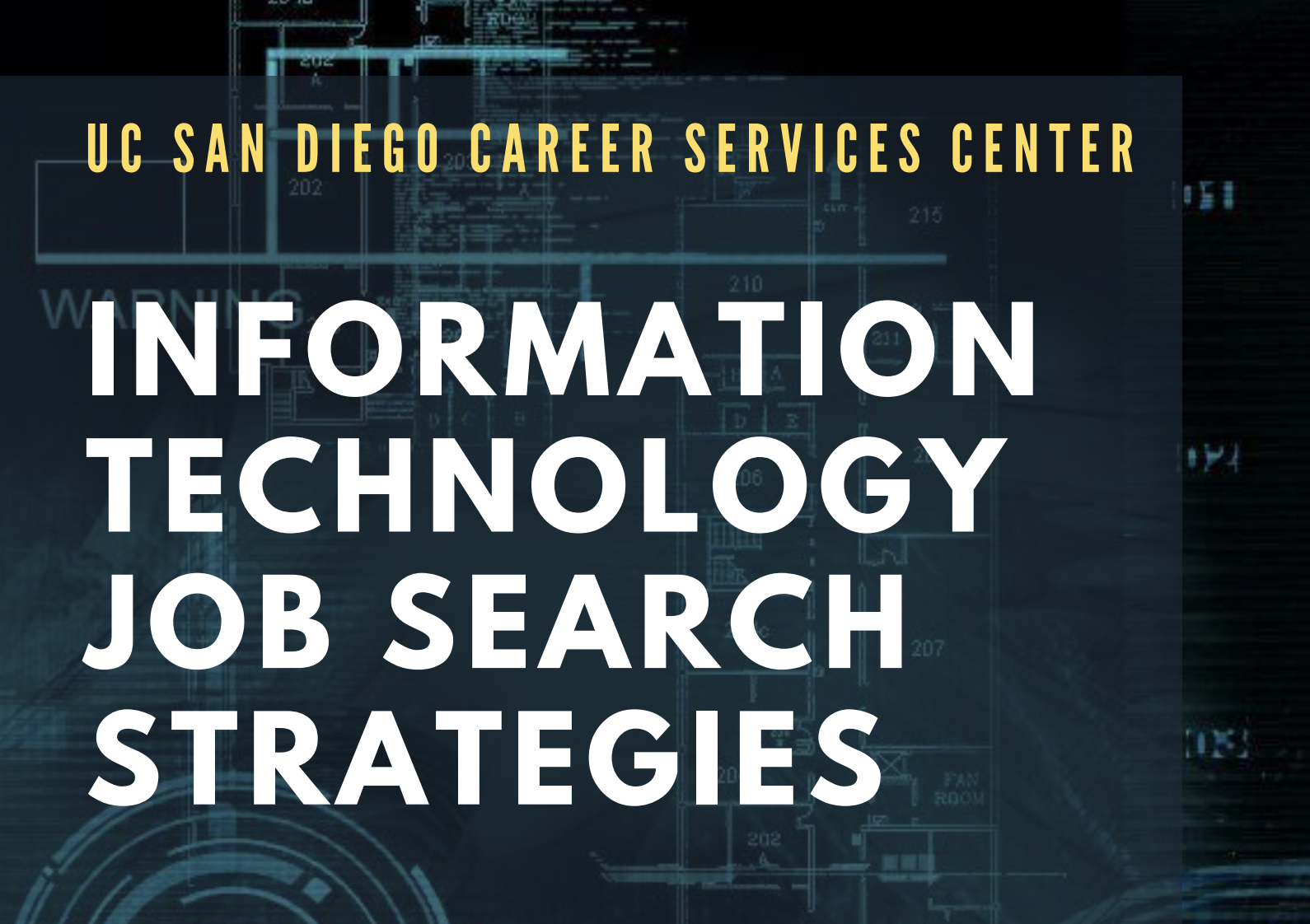 UCSD job search strategies information session with The Carrera Agency